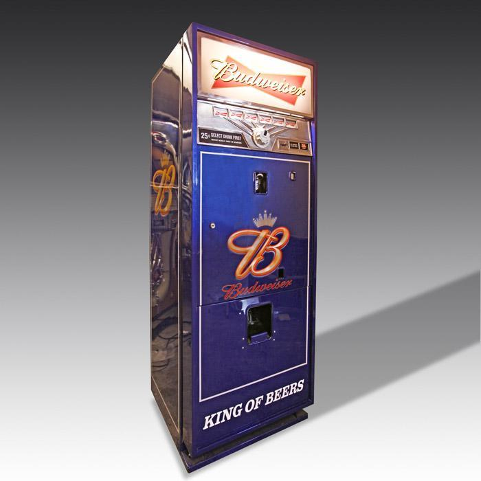 Budweiser Vending Machine 96 Can Capacity