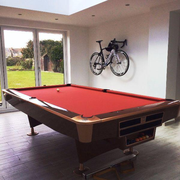 Buffalo Pro II American Pool Table in Walnut Gloss 9ft