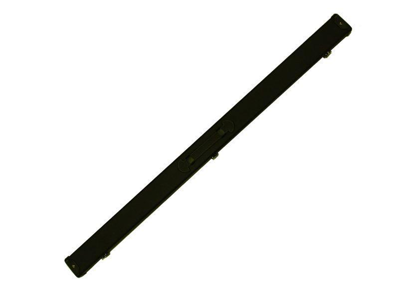 Black Leatherette Case for Three Quarter Jointed Cue