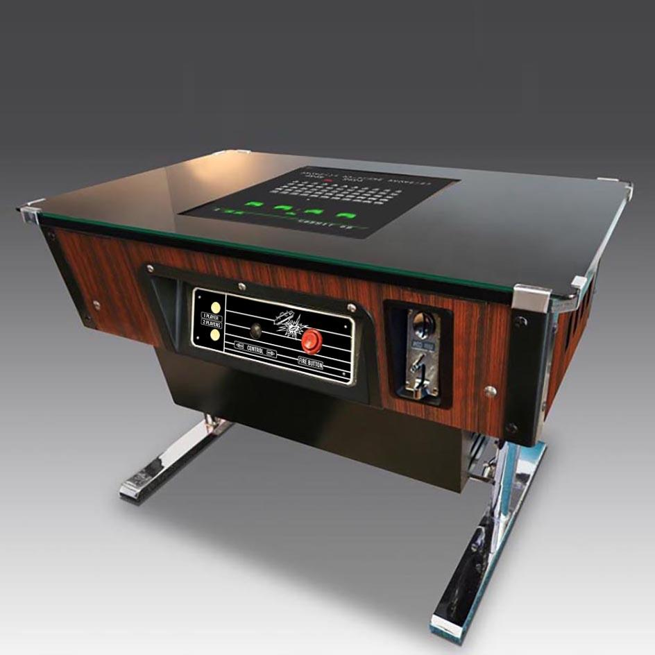 Original Space Invaders Cocktail Table