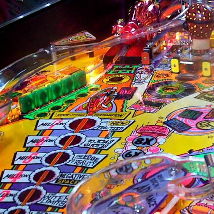 Party Zone Pinball Machine