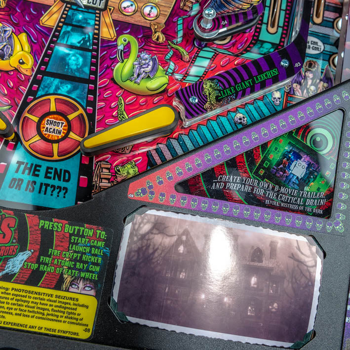 Elvira's House of Horrors Limited Edition Pinball Machine by Stern