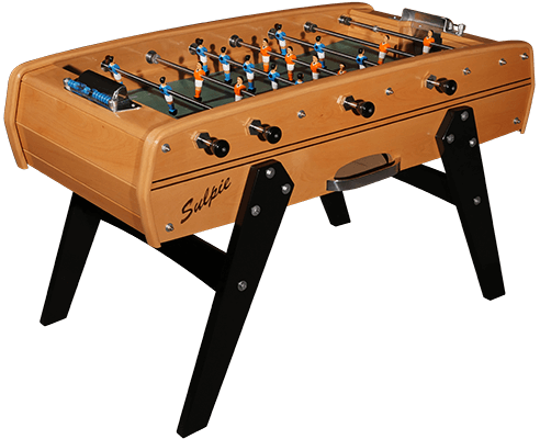 Sulpie Evolution Foosball Table with Beige Trim