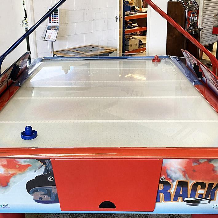 Sam  Double Fast Track Air Hockey Table Demonstration Model
