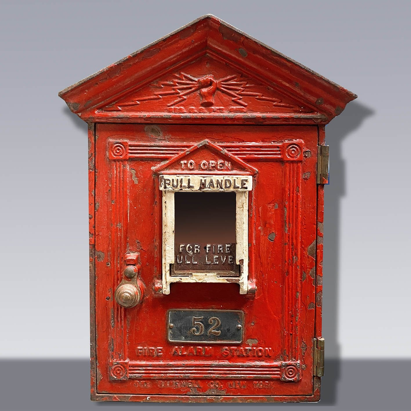 Vintage fire alarm box