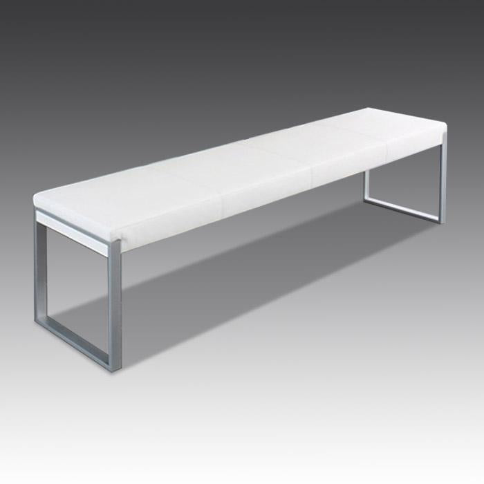 Fusion bench in white