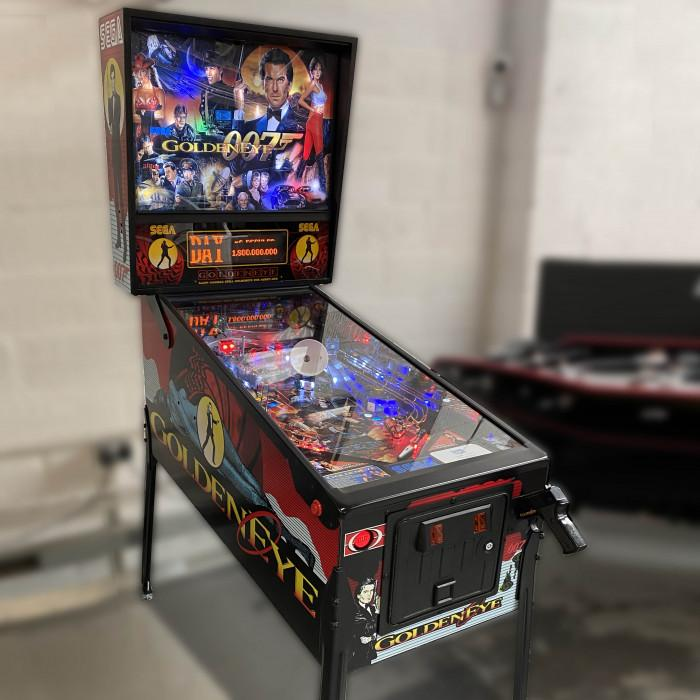 1996 Goldeneye Pinball Machine by Sega