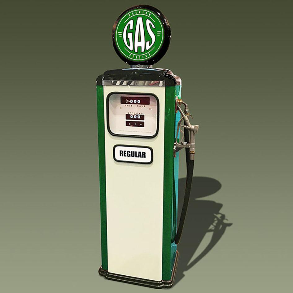 Vintage style Replica gas pump
