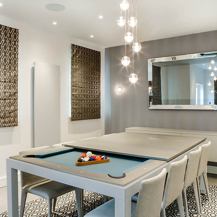 7.5 ft Aramith Fusion Pool Diner in Grey