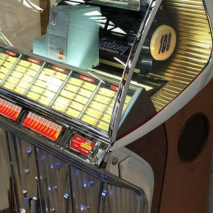 Seeburg HF100R Vinyl Jukebox 'Coming Soon'