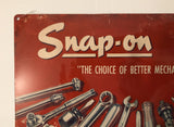 Snap-On Tools Vintage Old Style Wall Sign