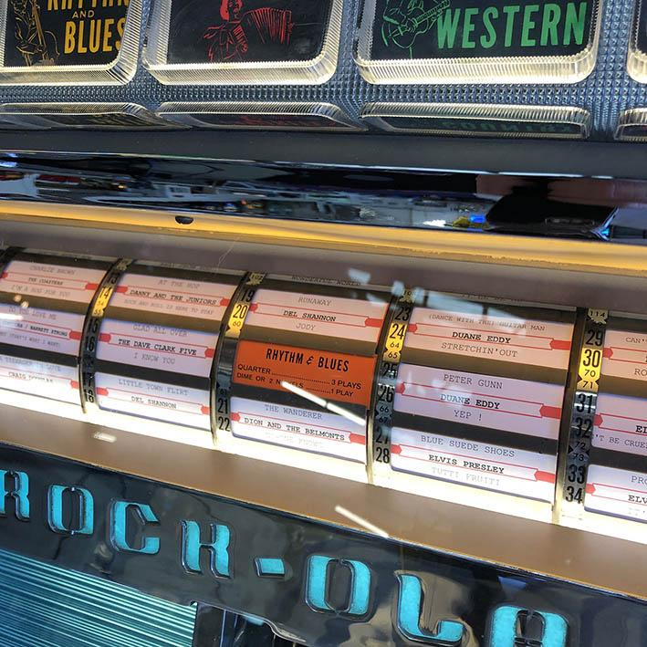 Original 1959 Rock-Ola Tempo I 1475 Jukebox