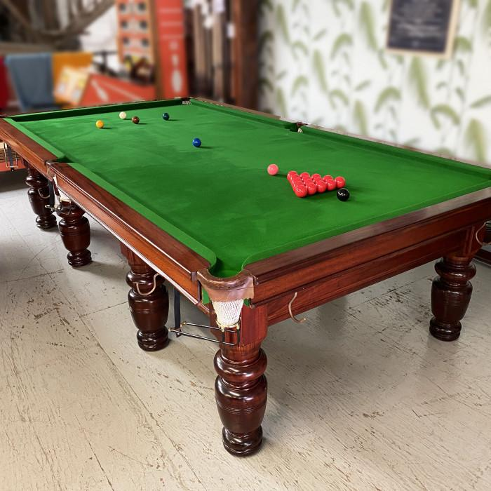 Mahogany Snooker Table 10ft