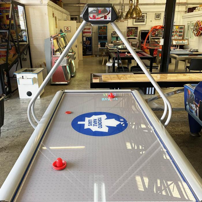 Sam Custom Air Hockey Table - Toronto Maple Leaf model
