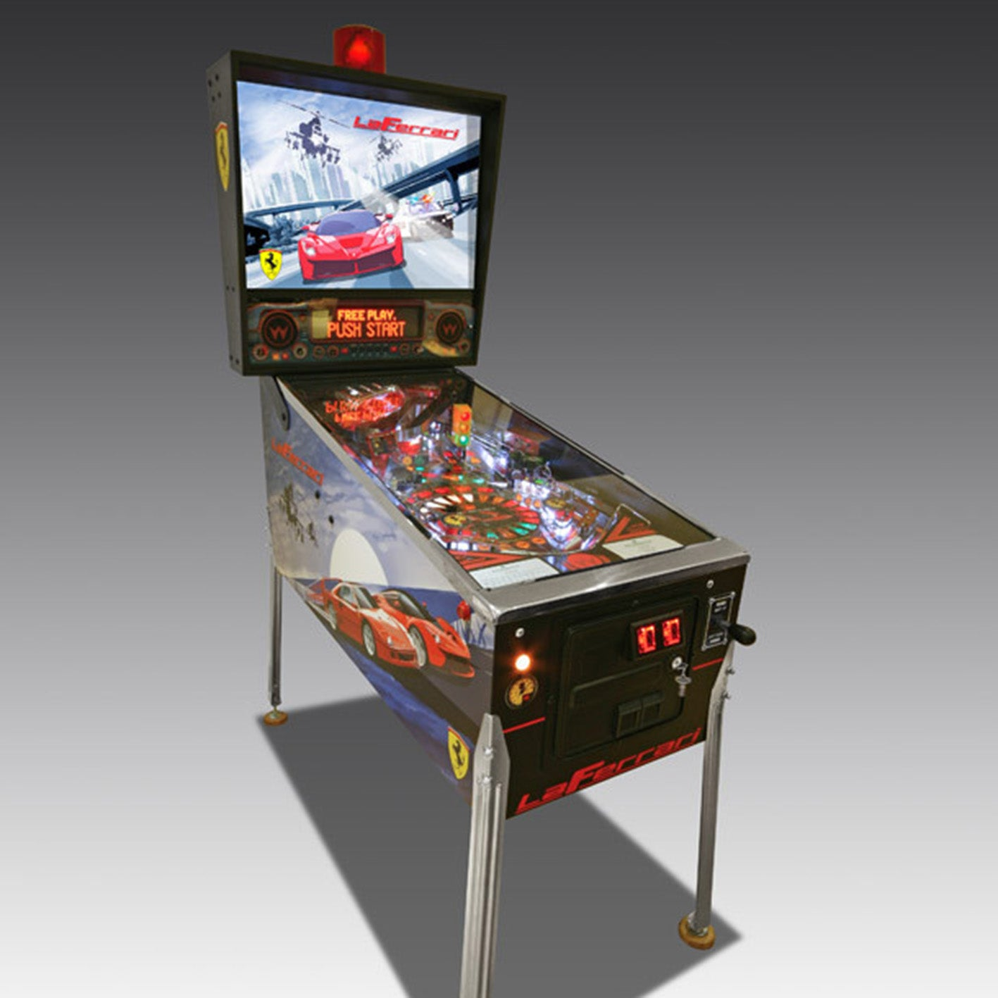 1992 Bespoke La Ferrari Pinball Machine by Williams