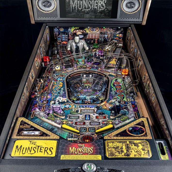 The Munsters Limited Edition Pinball Machine