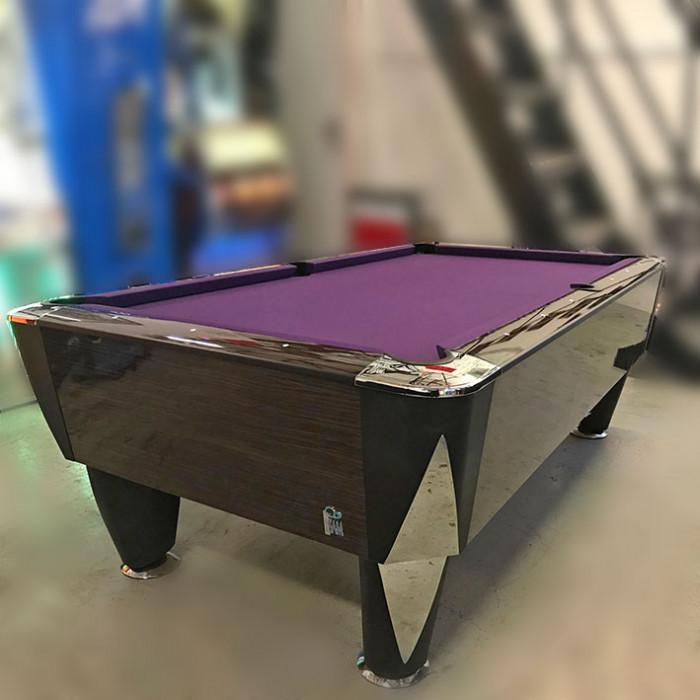 7ft SAM Magno Champion Dark wood Pool Table