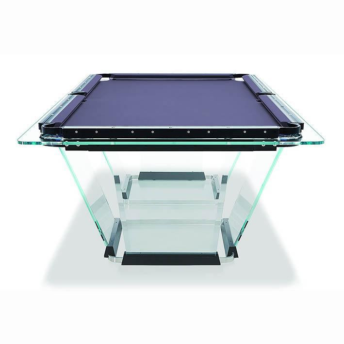 Teckell T1 Glass Pool Table
