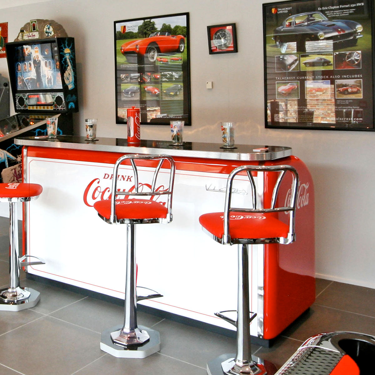 1950s Victor C-31 Coca-Cola Bar 'Coming Soon'