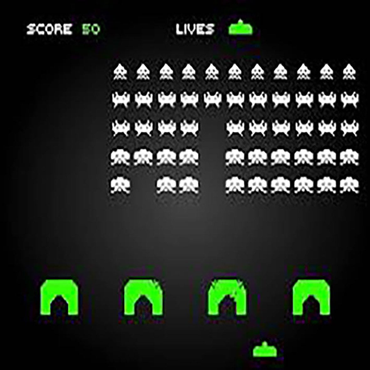Space Invaders Arcade Machine by Midway