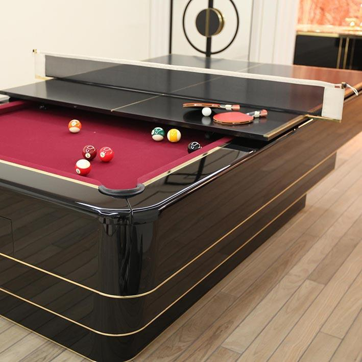 'The Olympian' Bespoke Pool Table by Waldersmith