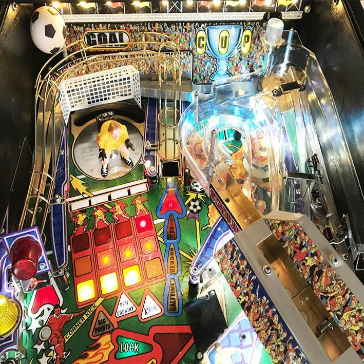 2000 Striker Xtreme Pinball Machine by Stern
