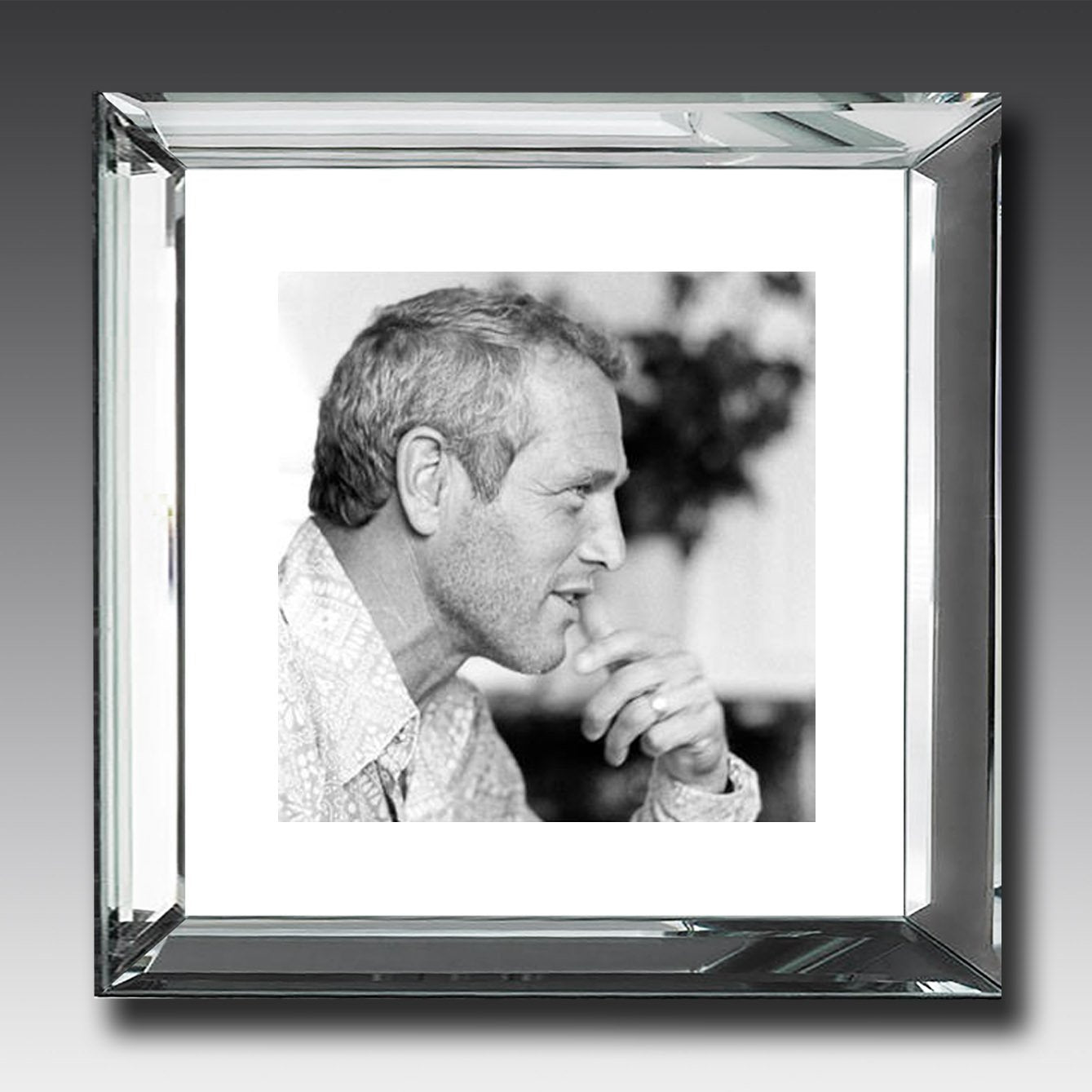 Paul Newman - Mirror-Frame Picture