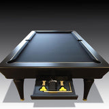 The Pembridge Bespoke Pool Table by Waldersmith