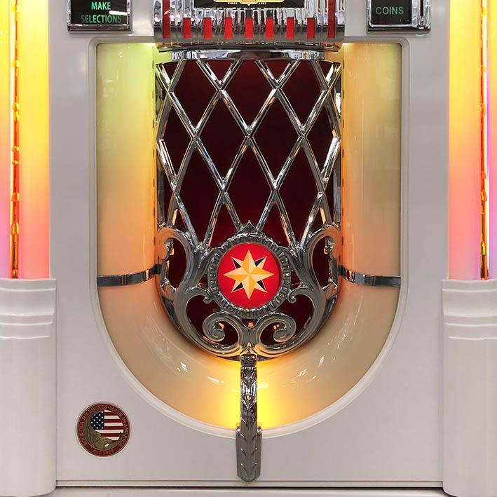 Rock-Ola Jukebox Bubbler Star Logo