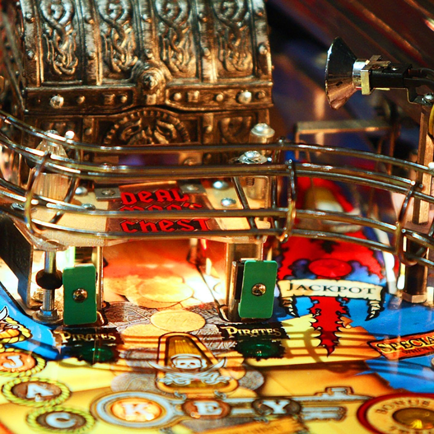 1999 Pirates of the Caribbean Pinball Machine by Stern