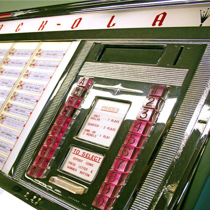Original 1962 Rock-Ola Princess 1493 Vinyl Jukebox