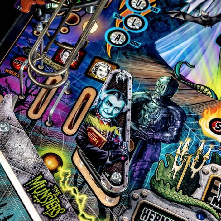 The Munsters Pro Edition Pinball Machine
