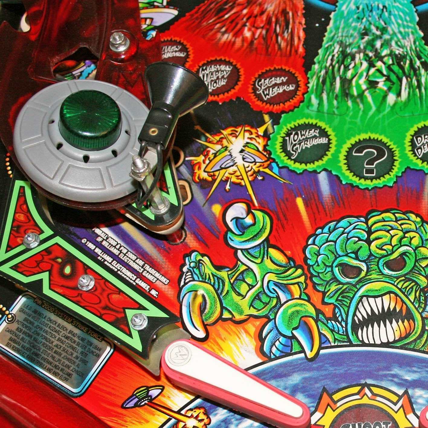 1999 Revenge From Mars Pinball Machine by Bally 'Coming Soon'