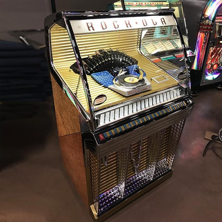 Original 1956 Rock-Ola 1454 Jukebox 'Coming Soon'