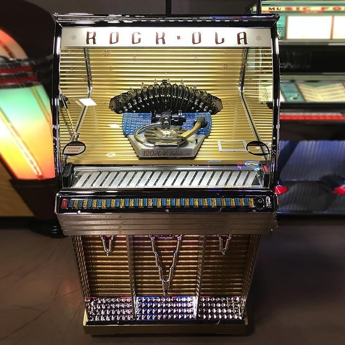 Original 1956 Rock-Ola 1454 jukebox