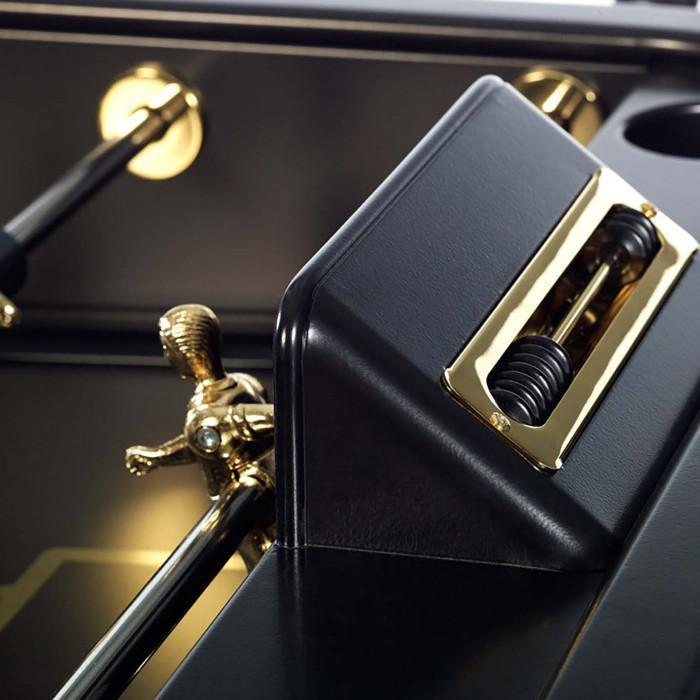 RS2 Gold Edition Foosball Table in Black