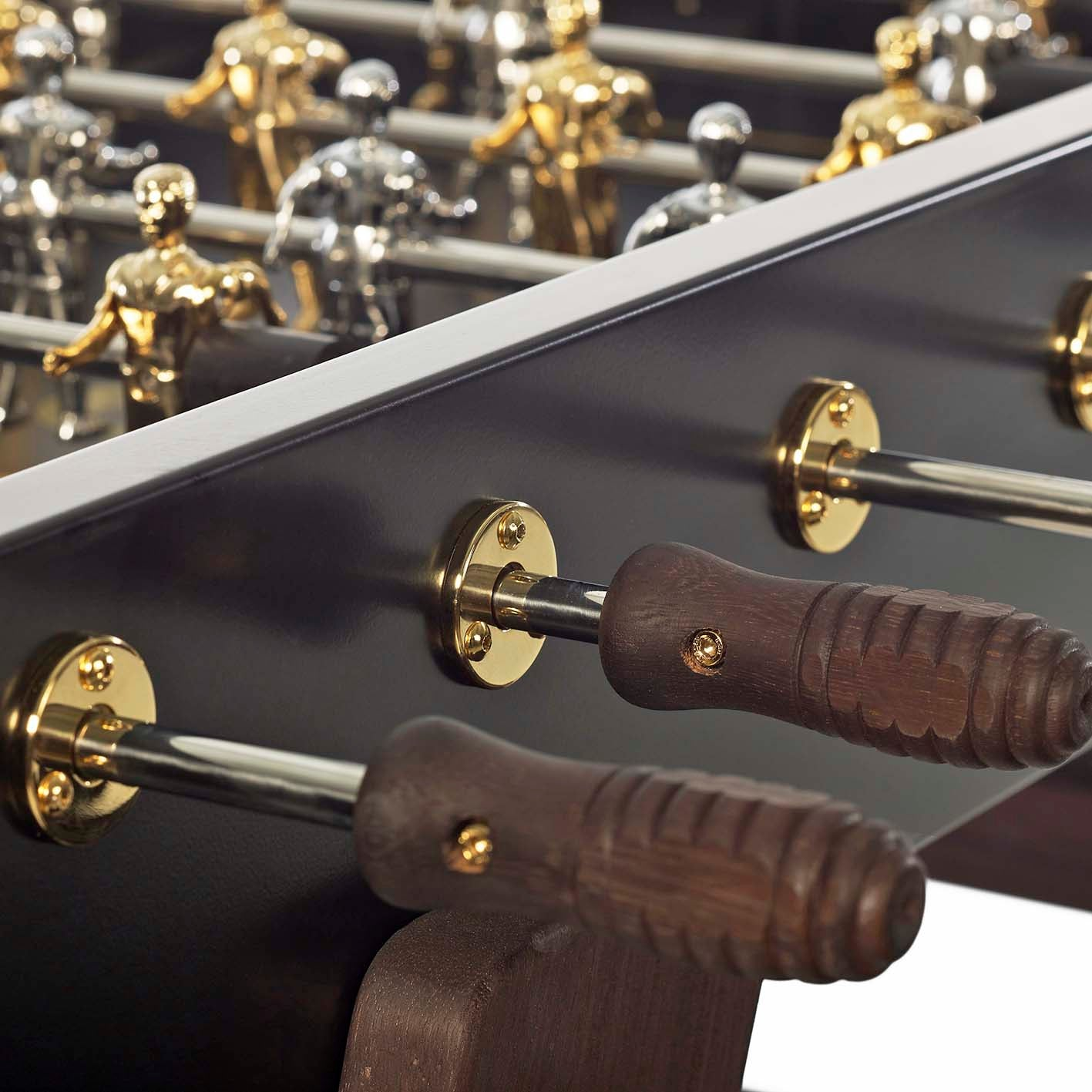 RS3 Wood Foosball Table in Gold Edition