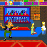 Original 1980s The Simpsons Arcade Machine by Konami
