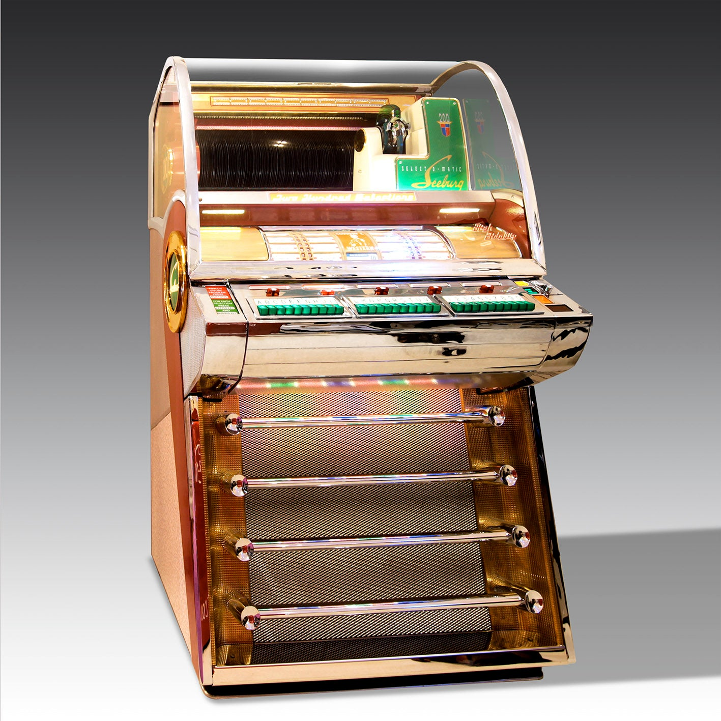 1955 Seeburg V-200 Vinyl Jukebox