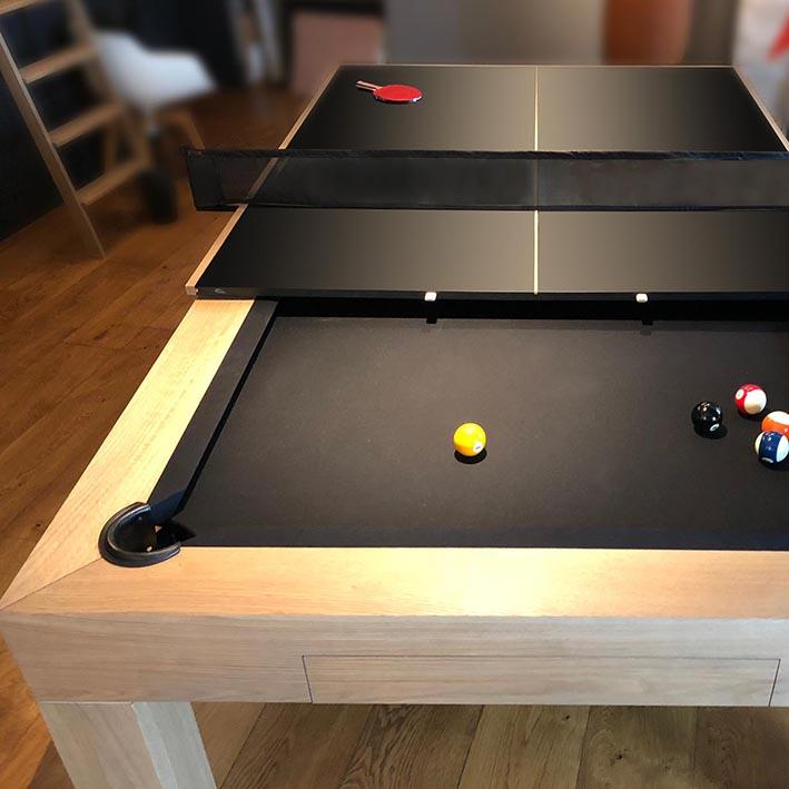 'The Shoreditch' Bespoke Pool Table by Waldersmith