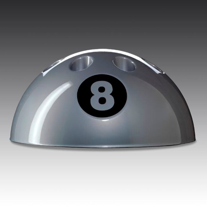 8-ball Cue Rack in Silver