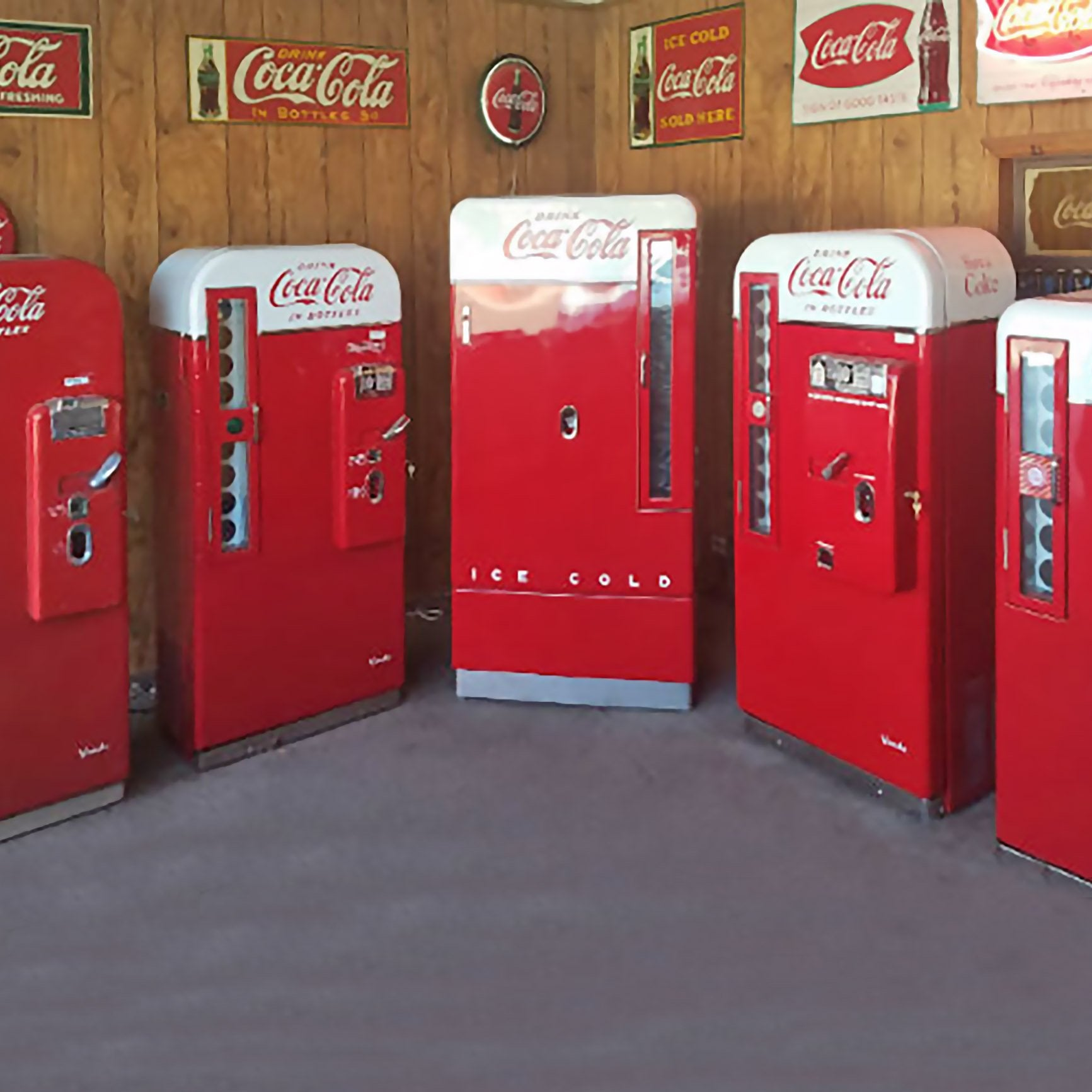 Vendo V81-A Coca-Cola Machine