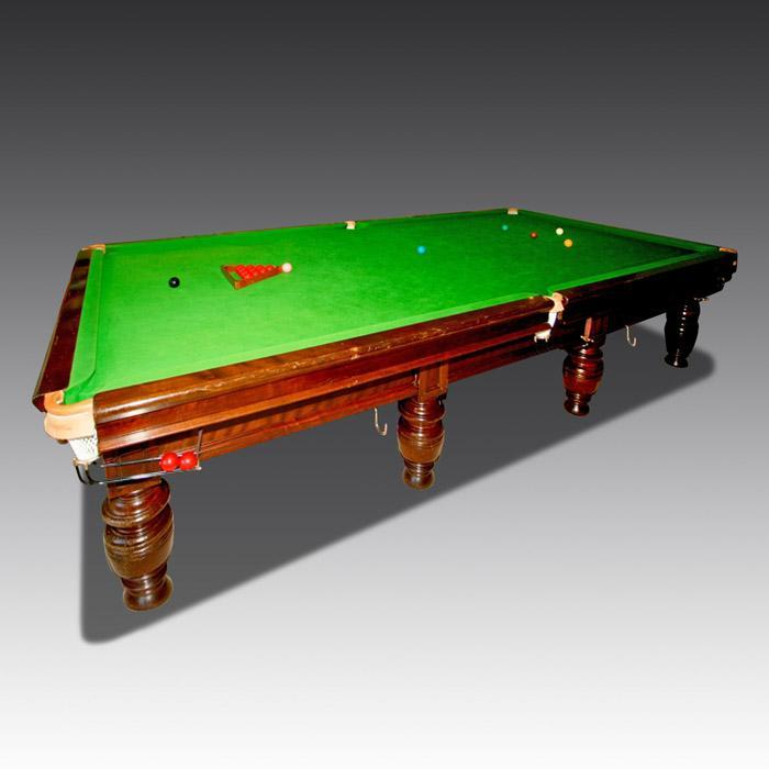 Steve Davis Snooker Table 12ft
