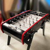 Sulpie Evolution Foosball Table in Black and Red