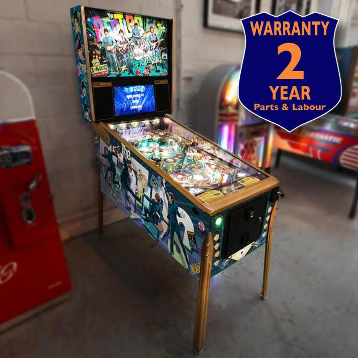 The Beatles 'Gold Edition' Pinball Machine by Stern