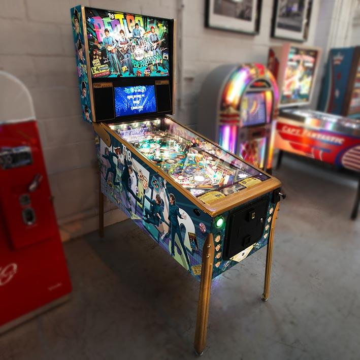 The Beatles Gold Edition Pinball Machine 'Coming Soon'