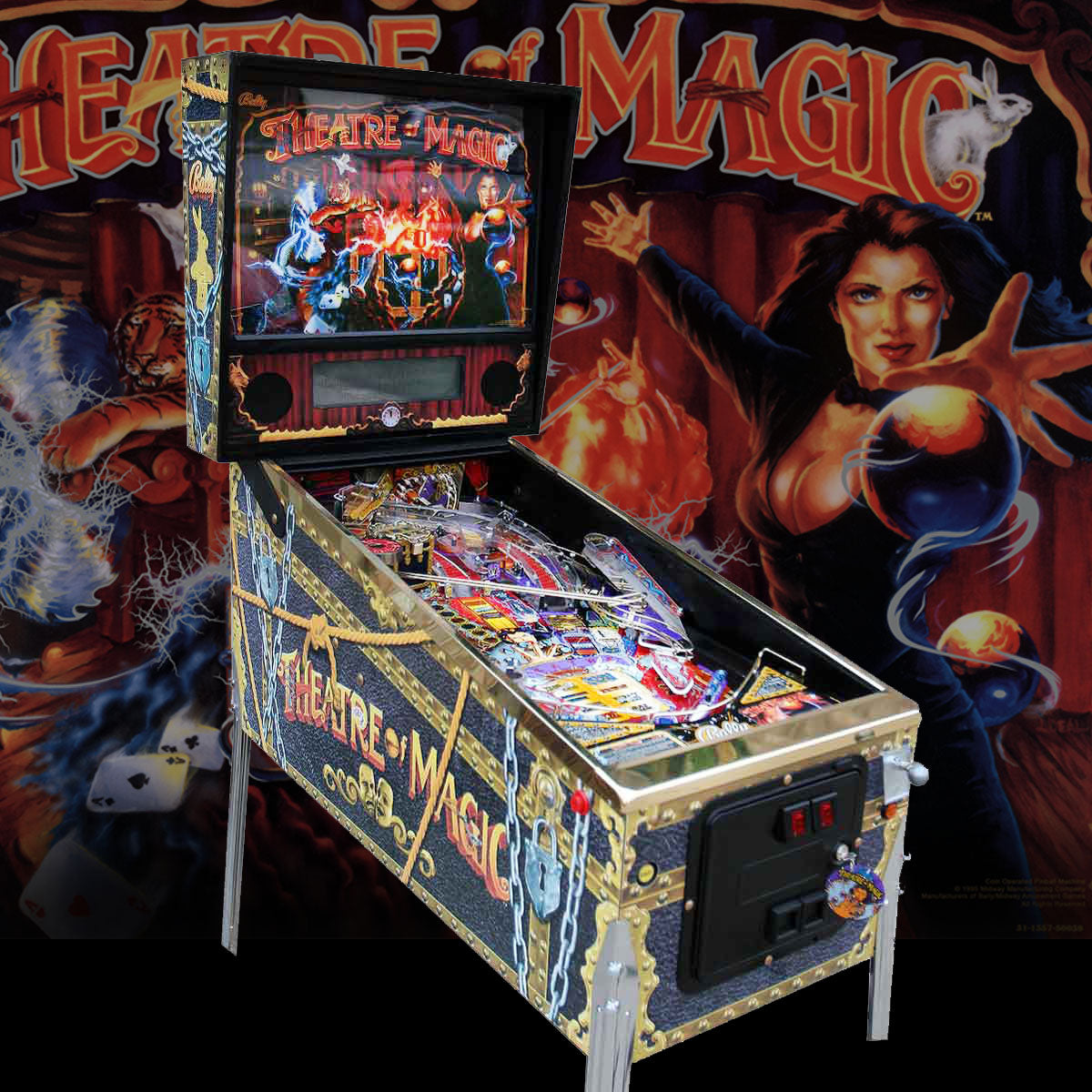 1995 Theatre of Magic Pinball by Bally