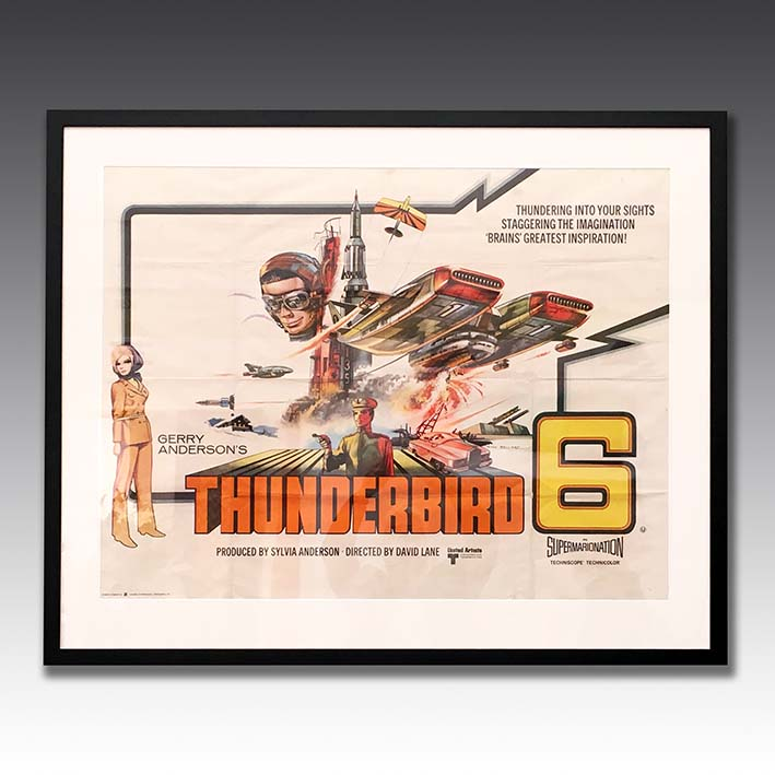 'Thunderbird 6' Original Film Poster