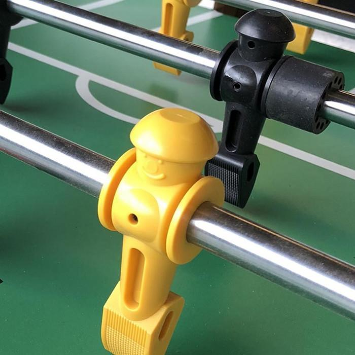 Tornado Tournament Foosball Table in Silver