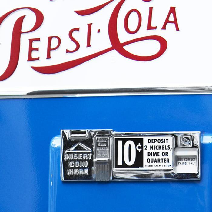 Vendo-81-D Pepsi Machine 'Coming Soon'